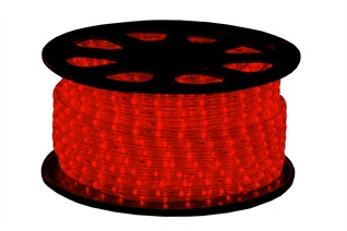 Lichtslang led rood